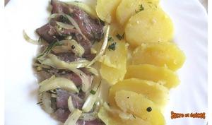 Maquereaux marinés aux vinaigre et oignons