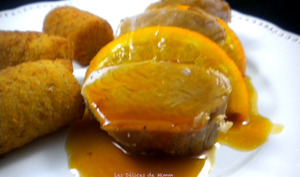 Filet mignon à l'orange