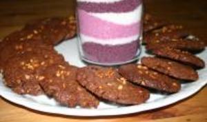 Cookies chocolat et nougatine