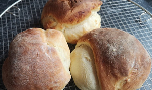 Petits pains moelleux aux fromage