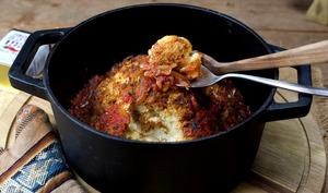 Chou-fleur rôti en cocotte au paprika fumé
