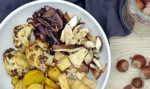 Le bowl aux légumes d'Automne