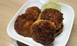 Mini burgers de poulet mauricien