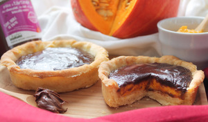 Pumpkin pie à la pâte à tartiner