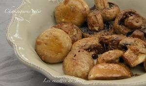 Champignons rotis - Les recettes de Jacre/En toute simplicité