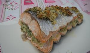saumon farci - Les recettes de Jacre/En toute simplicité