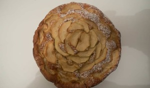 Le gâteau pommes mascarpone