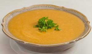 Soupe de fèves sèches et patate douce