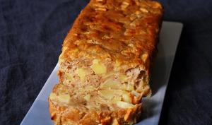 Gâteau moelleux aux pommes léger cannelle