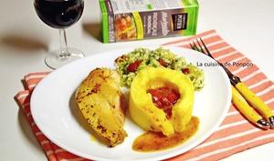 Filet de coucou de Malines avec purée et sauce à la marinade provençale Potier