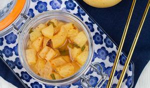 Bae Kaktugi ou poires pimentées en lacto-fermentation