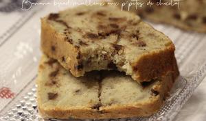 Banana bread moelleux aux pépites de chocolat