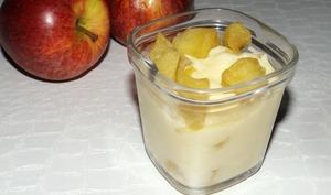 Flan aux pommes et au lait concentré sucré à la Multidélices