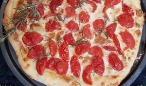 Tarte tomates ,gorgonzola mascarpone