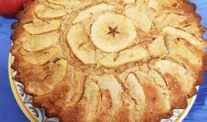 Gâteau aux pommes et lait ribot