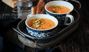 Soupe Veloutée de patates douces