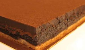 Trianon ou Royal au Chocolat avec Thermomix