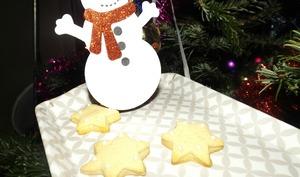 Sablés étoiles aux épices de Noël