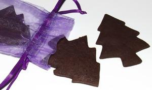 Sablés de Noël au chocolat et fève Tonka