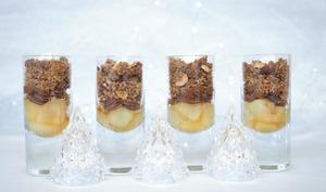 Dessert de Noël en verrines