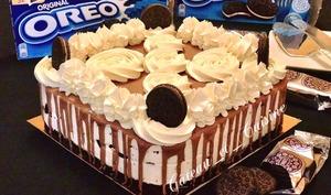 Cheesecake aux oréos sans cuisson