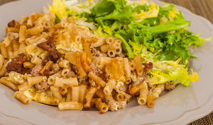 Makaronilaatikko, gratin de macaronis finlandais