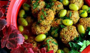 Boulettes de viande épicées à la sauce tomate