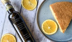 Gâteau à l'orange et a l'huile d'olive