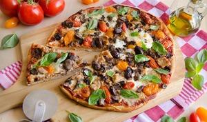 Pizza thon mozzarella tomates cerises