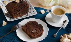 Cake chocolat gingembre