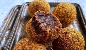 Truffes aux épices de Noël et aux spéculoos - Culinaire Amoula