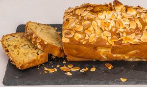 Gâteau du matin poires amandes
