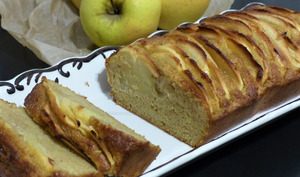 Cake extra moelleux pomme cannelle