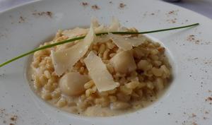Risotto d'Ebly aux noix de pétoncles