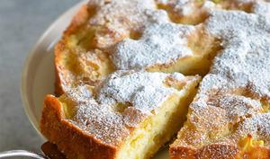 Cake aux pommes et yaourt
