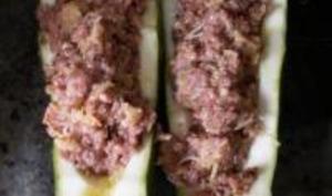 Courgettes Farcies à la viande