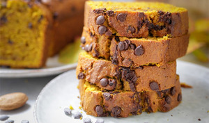 Cake au potiron et pépites de chocolat