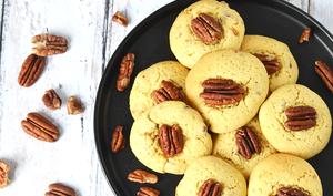 Cookies vanille pécan