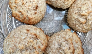 Petits gâteaux moelleux à la noix de coco
