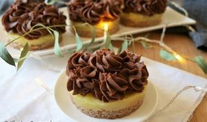 Entremets ananas crème au chocolat