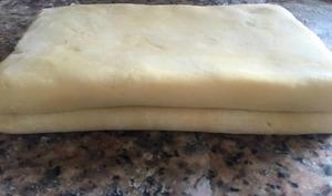 pâte feuilletée inversée pas à pas en image