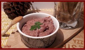 Tartinade de haricots rouges au piment d'Espelette