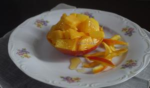Salade de mangue au miel pur