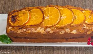 Gâteau du matin à la crème de châtaignes et à l'orange