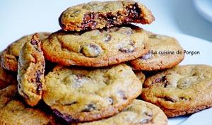 Délicieux cookies aux pépites de chocolat du chef Conticini