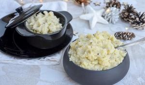Ecrasé de pommes de terre à la truffe