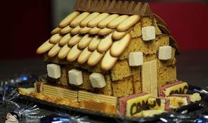 Maison en pain d'épices facile