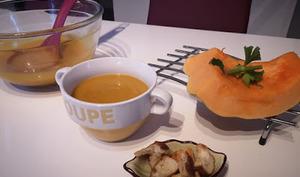 Soupe de potiron carottes