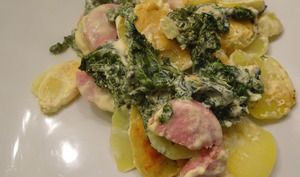 Chou kale à la moutarde de Dijon