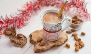 Chocolat Amande chaud